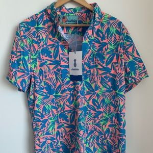 Brand new CHUBBIES printed shirt size medium
